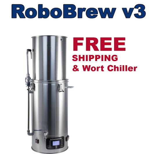 The New RoboBrew v3 Electric Brewery Is Now In Stock And SHIPS FREE! - Homebrewing - Home Brewers Blog