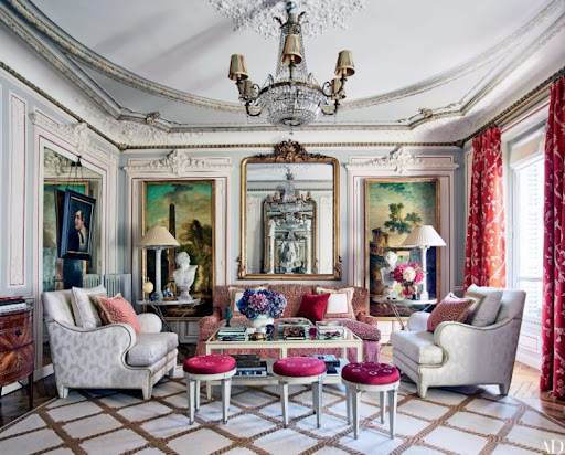 104 Luxurious Living Rooms Why Parisian Are The Most