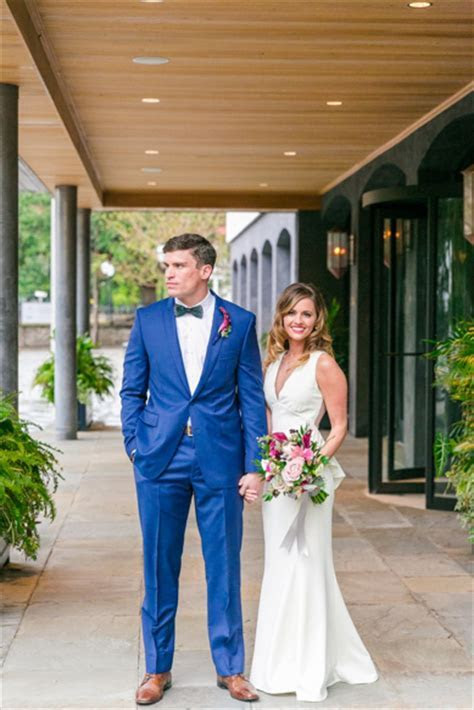 Emma   Justin // Navy, Pink   Berry Fall Wedding at The