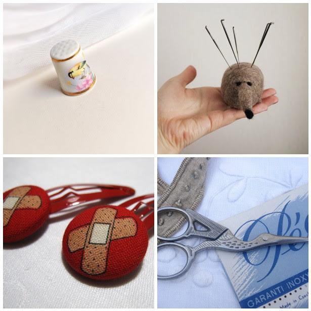 Monday Mood Board: Hand Sewing
