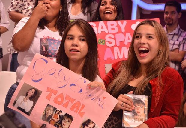 Fãs da atriz marcaram presença na plateia (Foto: Caio Duran/AgNews)