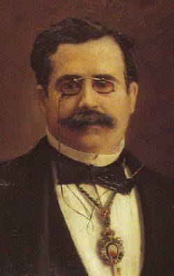 Francisco de Paula Canalejas Casas (1834-1883), por E. P. Valluerca, Ateneo de Madrid