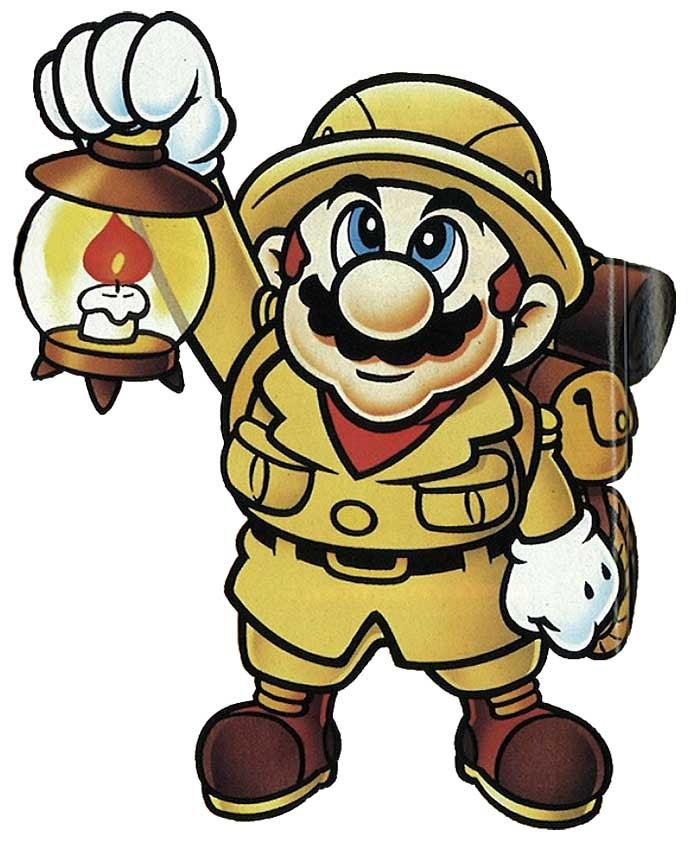 Mario's Picross game.