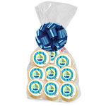 Cakesupplyshop 12Pack Nautical Decorated Party Favor Cookies
