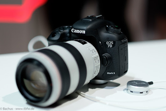 Photokina 2014 - 1. Tag: Hands-On Canon EOS 7D Mark II