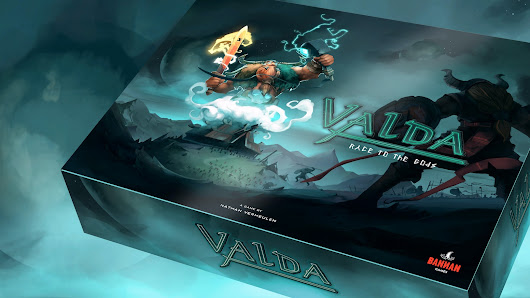 Valda — race to the gods — a boardgame by Nathan Vermeulen