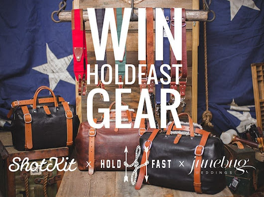 Photography Gear Giveaway - Holdfast x Shotkit x JuneBug