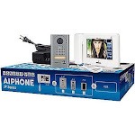 """YBS Aiphone 7"""" Touchscreen Handset/Hands-Free 4 x 8 Color Video Set"""