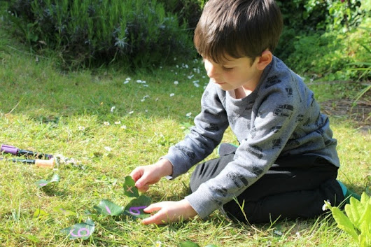 7 Ideas for learning outside with leaves - Crafts on Sea