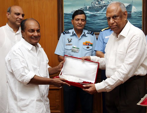 FAREWEL TO DEFENCE PRODUCTION SECRETARY by Chindits