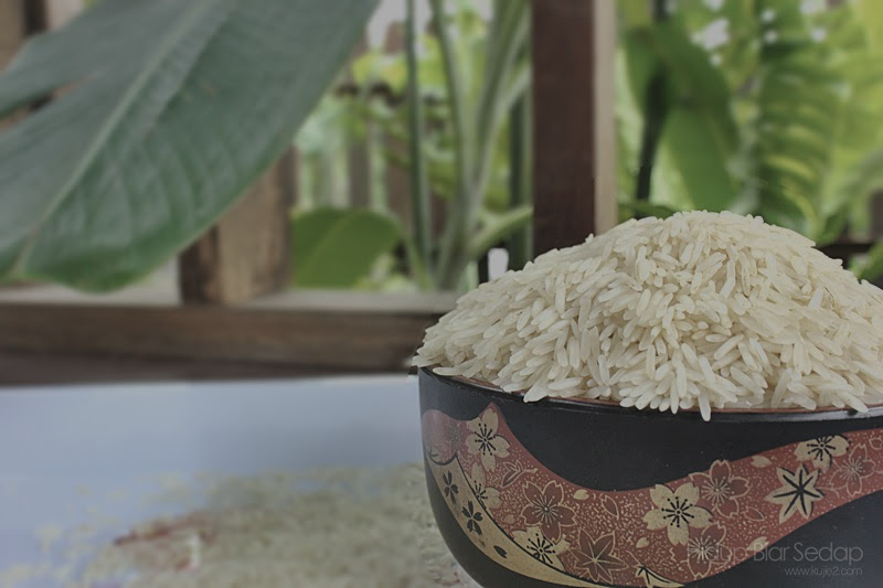 beras basmathi jasmine yang sedap