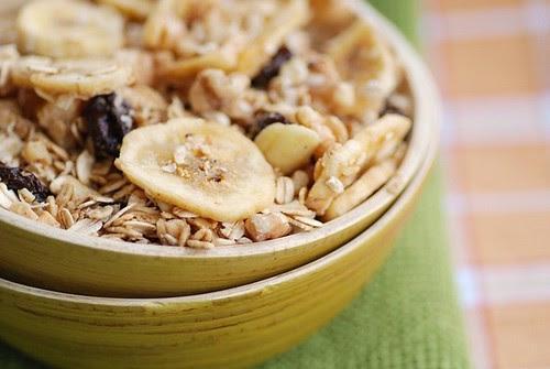 crunchy maple walnut granola