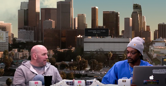 VIDEO | Dana White hangs with Snoop Dogg, talks 24-hour marijuana rule on GGN News preview | BJPenn.com