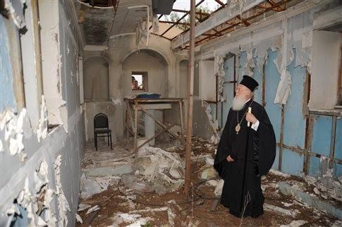 EXTRAS - 2007, Αιφνιδιαστική κατεδάφιση της σκεπής της Μονής Χριστού Σωτήρος από το Δασαρχείο Χάλκης