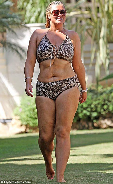 Acumulando quilos novamente: Towie estrela Gemma Collins admite que ela recuperou cerca de uma pedra, depois de perder quatro durante o verão