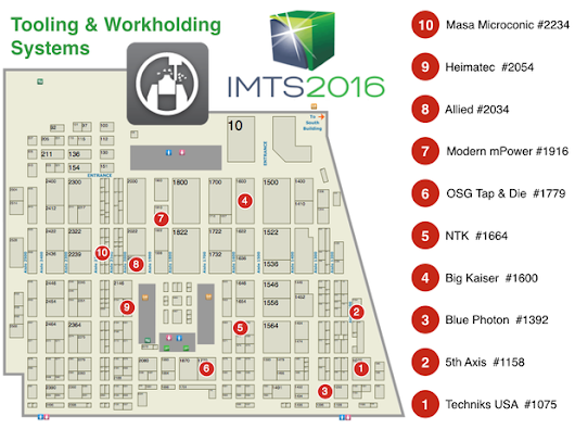 IMTS 2016 - The Companies to See! - Next Generation Tooling
