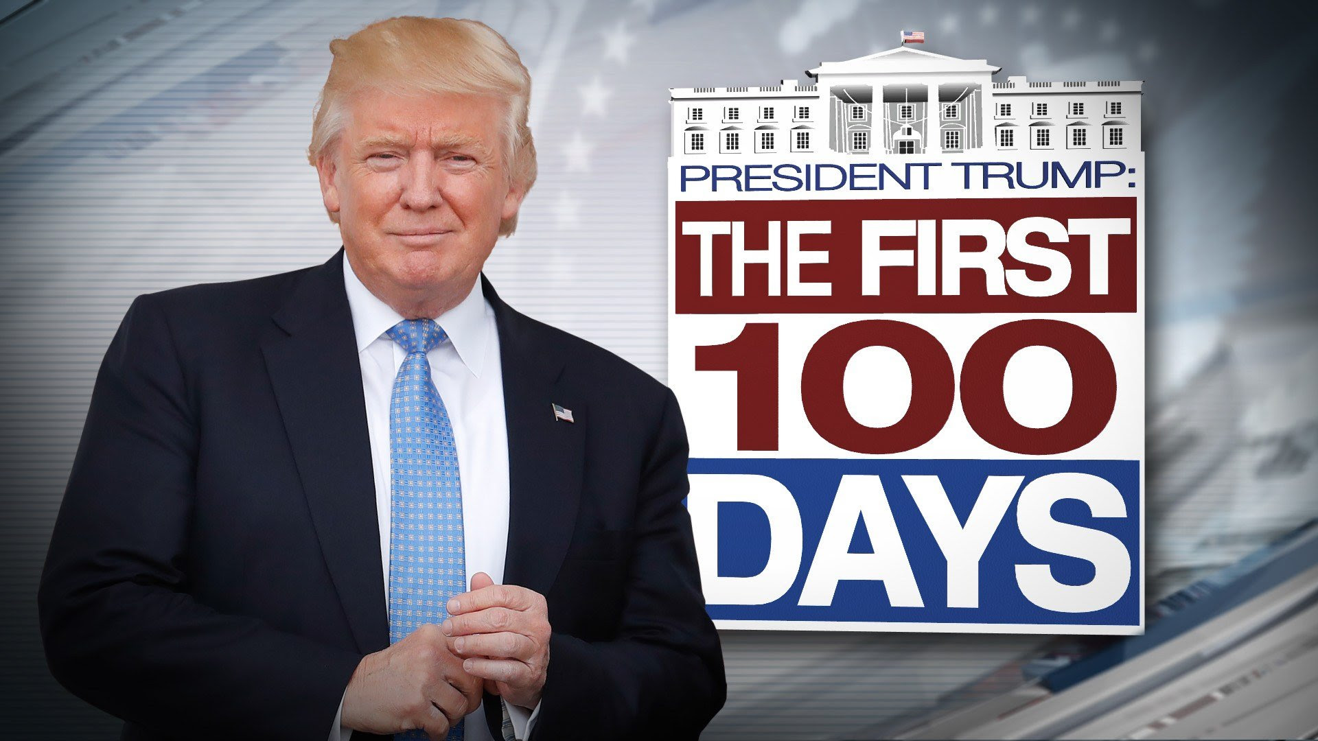 Image result for Trump 100 days