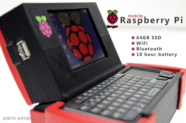 Mobile Raspberry Pi Computer to go