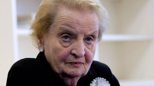 Albright: 'I stand ready to register as Muslim'