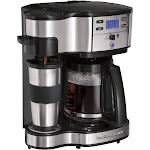 Hamilton Beach Black 2 Way Brewer Coffee Maker- 49980Z
