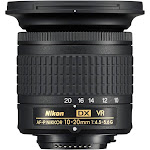 Nikon AF-P DX Nikkor Wide-Angle Zoom Lens for Nikon F - 10mm-20mm - F/4.5-5.6