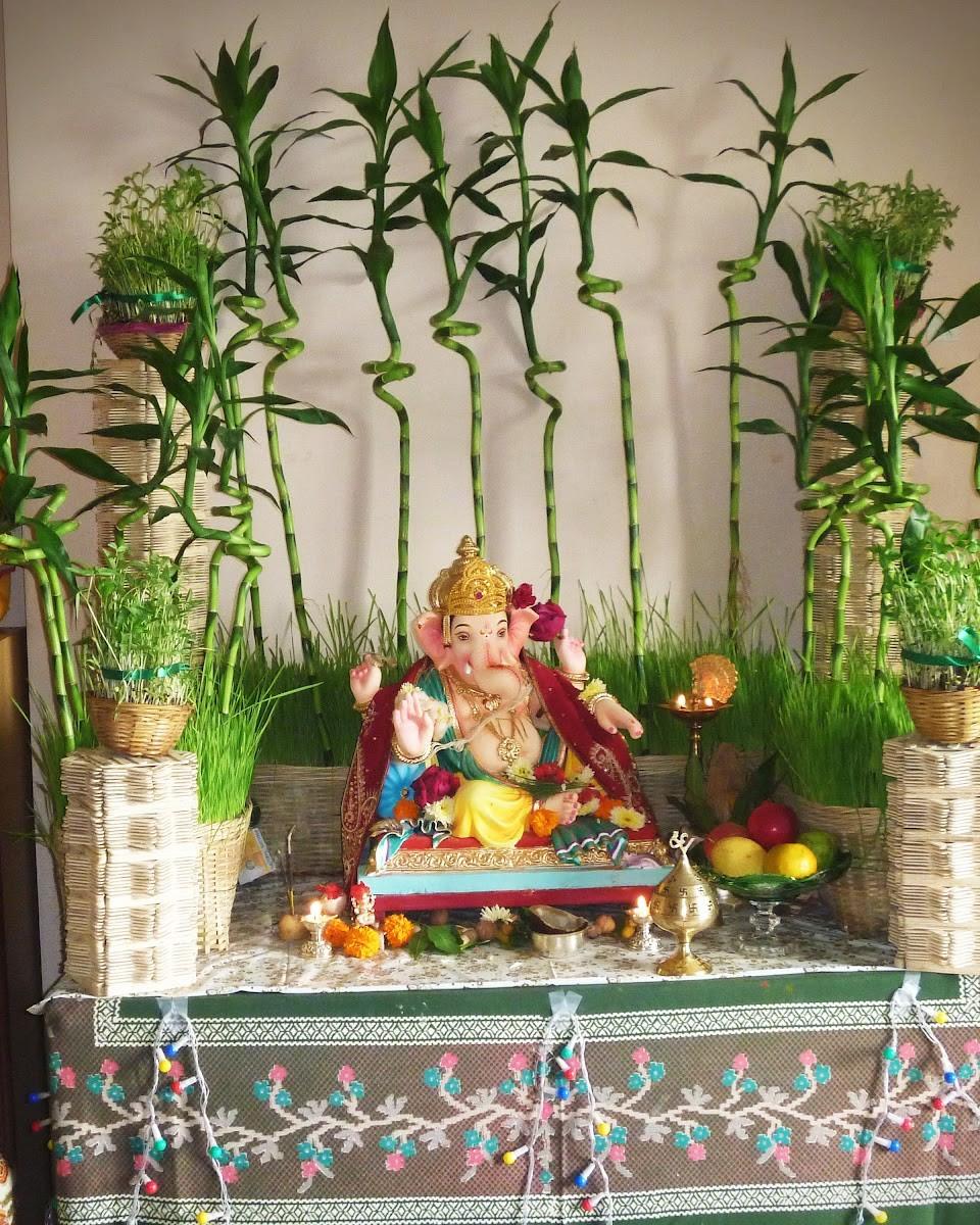 30 Ganesh Chaturthi Vinayagar Chaturthi Decorative Ideas Wedandbeyond