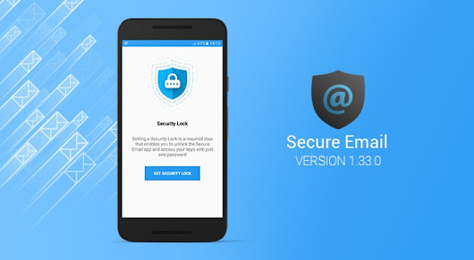 Secure Email v1.33.0: Introducing Security Lock