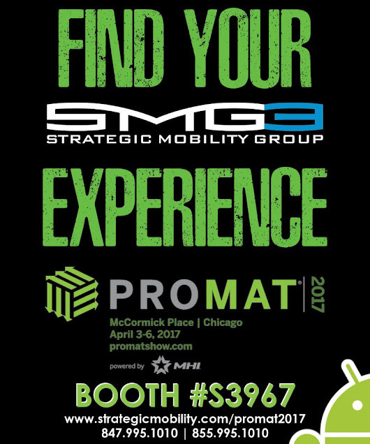 Strategic Mobility Group, LLC (SMG3) at ProMat 2017 Chicago