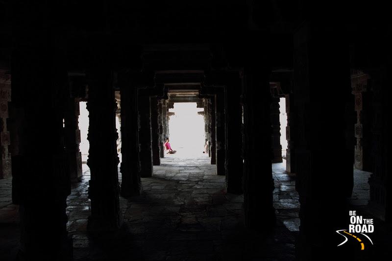 Meditating at the Airavateeswara Temple, Darasuram