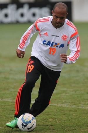 Alecsandro, Ninho do Urubu, Flamengo (Foto: Gilvan de Souza/Fla Imagem)