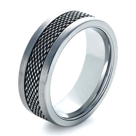 mens tungsten  stainless steel ring  seattle