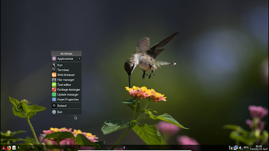 Archman 18.04 LXDE / OPENBOX / JWM Community Edition Released