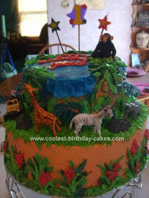 Jungle Birthday Party Ideas Clicks