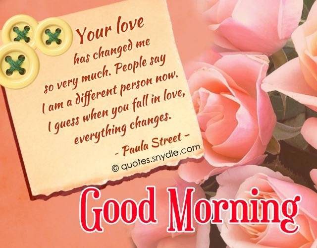 Sweet Good Morning Quotes for Her and Him With Picture ...