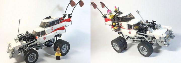 Versión de LEGO de 'Mad Max: Furia en la carretera'