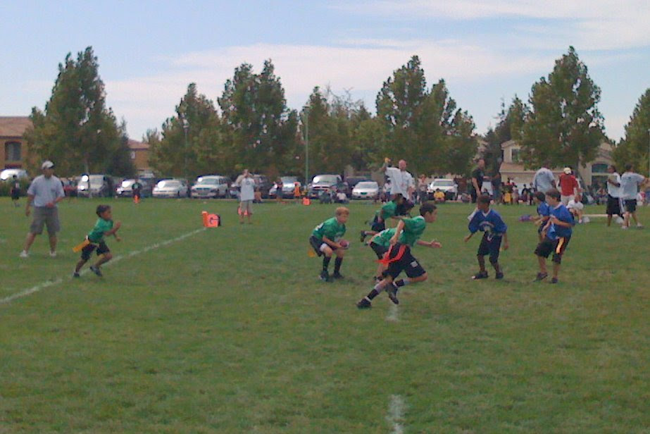 2008 Flag Football Game #2