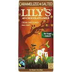 Lilys Chocolate Bar, Caramelized & Salted - 2.8 oz