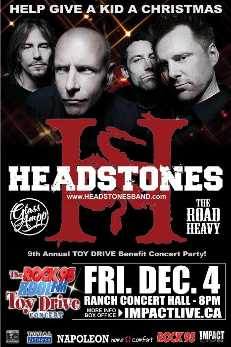 HEADSTONES Headline The Rock95 Toy Drive Concert!