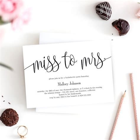 Miss to Mrs Bridal Shower Invitation #LCC   Berry Berry Sweet