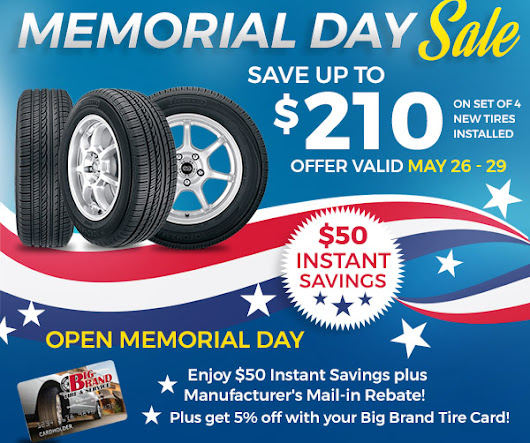 Memorial Day Sale! Save up to $210 All Weekend Long