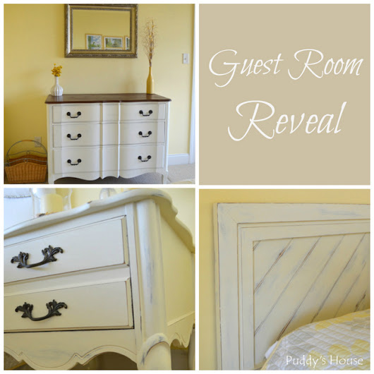 Guest Room Reveal – Puddy's House