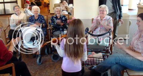 Natasha Plays her Violin