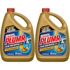 Liquid-plumr 80 oz. Professional Strength Full Clog Destroyer and Drain Cleaner (2-Pack)