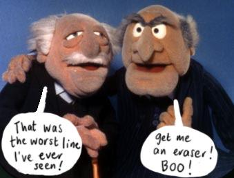 Balkon muppet show vom die zwei Die Muppet