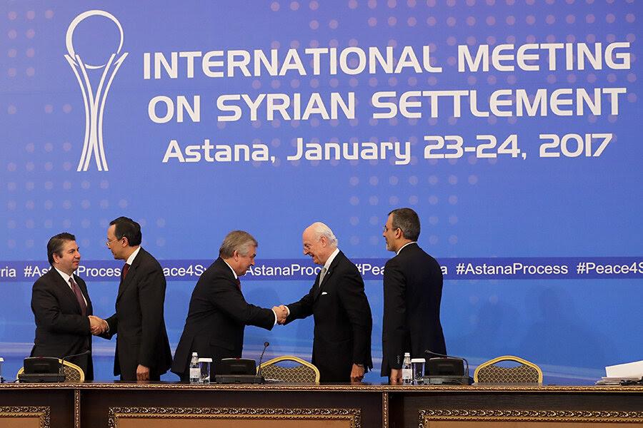 Resultado de imagem para international meeting on syrian settlement may