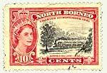 North Borneo Postage Stamp