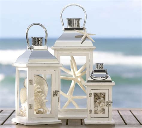 Beach Decorating with Lanterns   Create a cozy atmoshphere