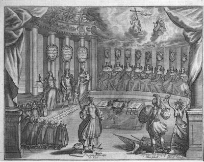 1657 Allegorie auf die Wahl eines neuen Kaisers