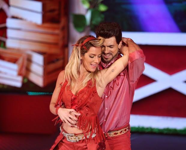 Giovanna Ewbank e Rogerio Mendonça (Foto: Isabelle Pinheiro / Gshow)