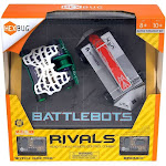 Hexbug Battlebots Rivals Bronco and Witch Doctor with Remote and App-Controlled Robot
